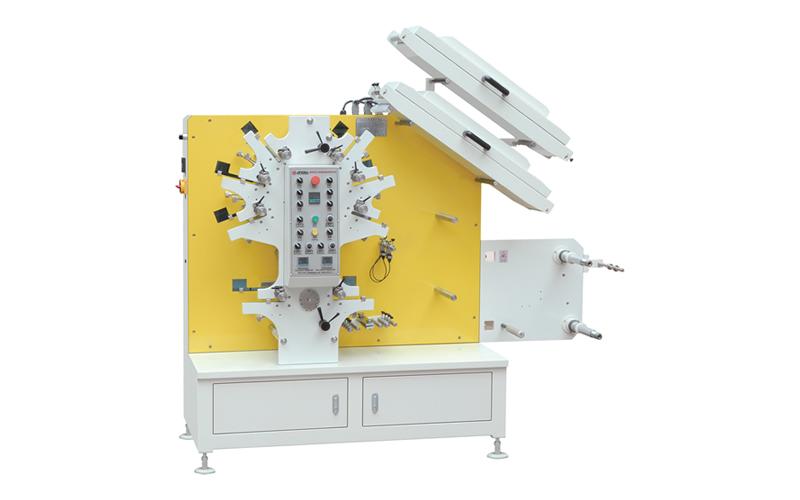 ADF-1262 Flexo Fabric Label Printing Machine 6C-2C