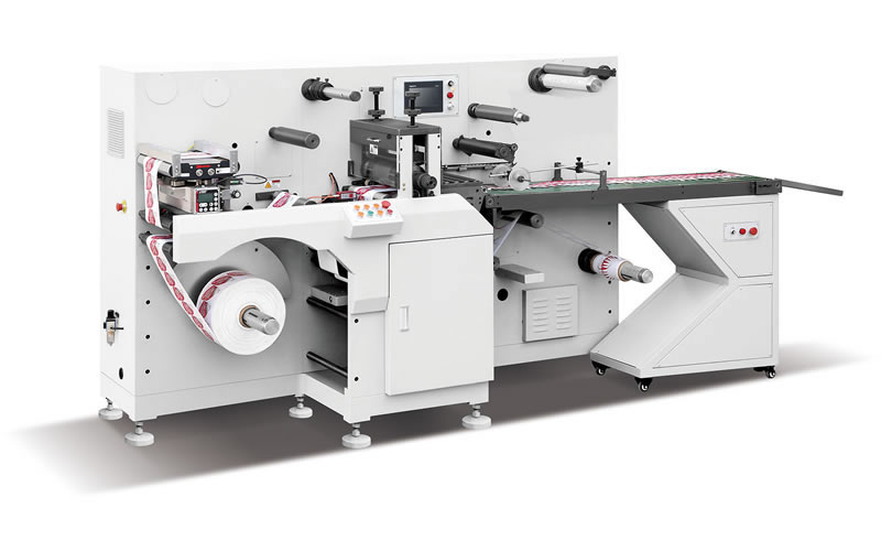 AIDC-330-2 Multi-Functional Label Die Cutting Machine