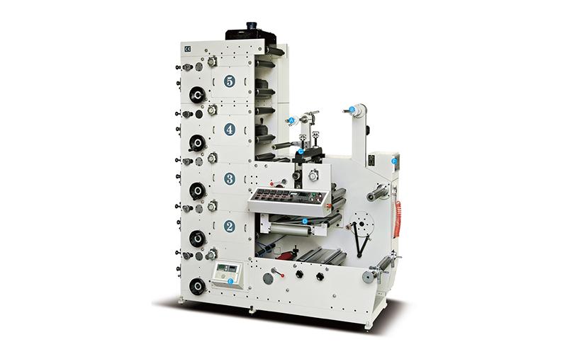 Atlas-320-5B Flexo Printing Machine
