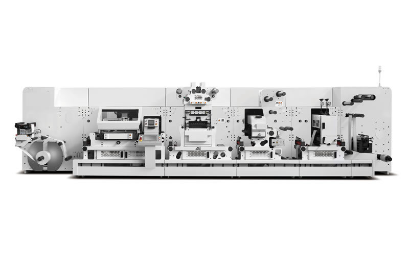 Giant-370 Flexo Printing and Die Cutting Machine