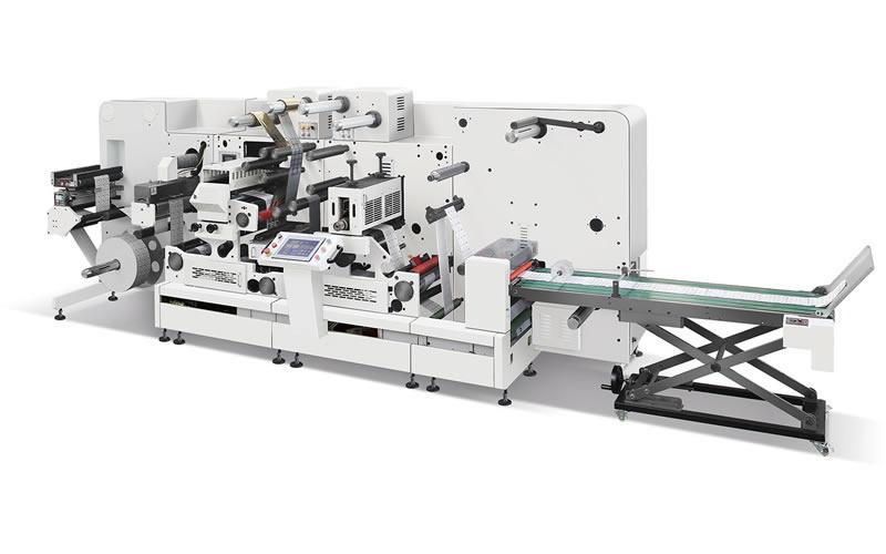 Giant-370 Modular Digital Converting and Finishing Machine