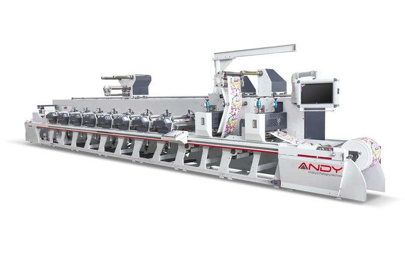 Smart-340 Unit Type 8 Colors Flexo Press