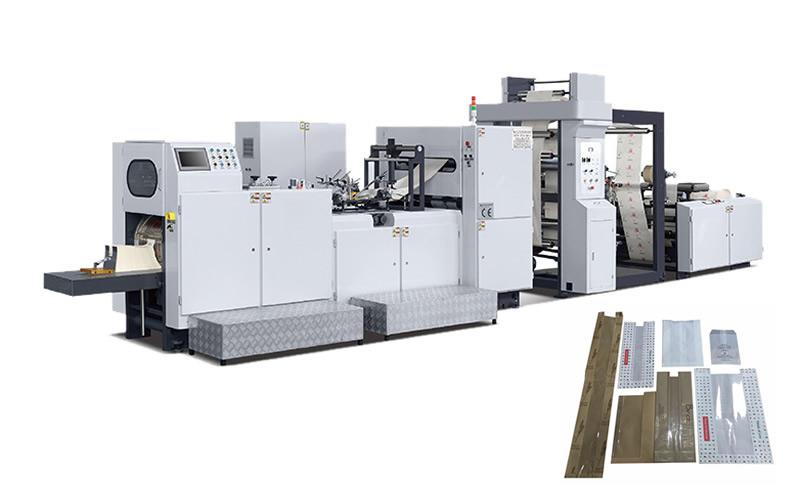 ADB-330F Automatic High Speed Food Paper Bag Making Machine