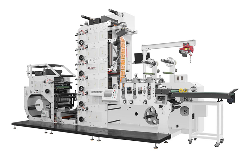 Atlas-450 Automatic Small Label Stacked Flexographic Printer