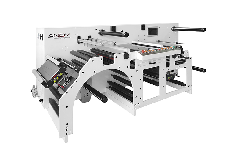 Helios-370Z Slitter Rewinder with 100 Inspection Quality Control